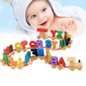 CONSOLE ÉDUCATIVE enfants bébé lettres train éducation jouets d'appr