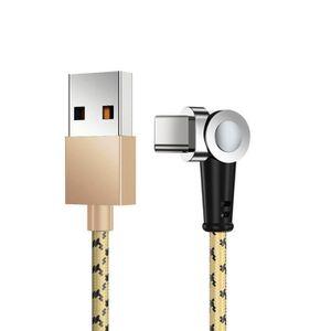 Câble - connectique GPS 180 ° anneau magnétique portable Câble de charge r