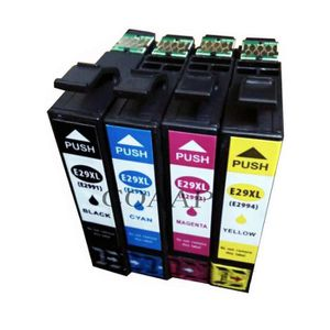 CARTOUCHE IMPRIMANTE 4x NOUVEAU Cartouche d'encre EPSON 29XL compatible