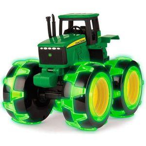 TRACTEUR - CHANTIER TOMY John Deere - 46434 - Monster Treads light Whe