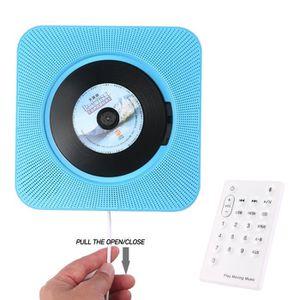 HAUT-PARLEUR - MICRO Lecteur CD Portable, Lecteur CD Mural Leegoal avec
