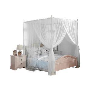 Loveinwinter moustiquaire pour lit Double Ouvrez la Porte sur Quatre c/ôt/és Grande Taille moustiquaires Pratiques m/énagers