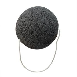 PETITS INSTRUMENTS Naturel Fibre Konjac Visage Eponge Noir Nettoyage
