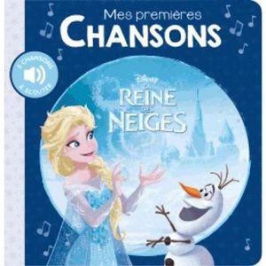 LIVRE 0-3 ANS ÉVEIL Livre - mes premières chansons ; la Reine des Neig