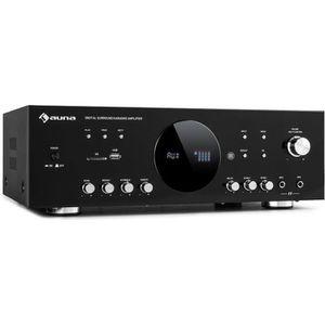 AMPLIFICATEUR HIFI auna AMP-218 BT Amplificateur surround numérique 5