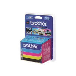CARTOUCHE IMPRIMANTE Brother LC900Valuepack Pack de 4 noir, jaune, cyan