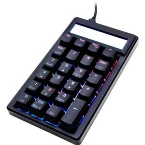 BOITIER PC  Ducky Pocket PBT Numpad, MX Red, RGB LED - schwarz