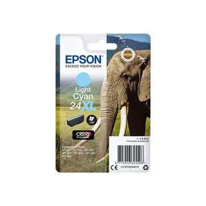 CARTOUCHE IMPRIMANTE EPSON Cartouche T2435 - Eléphant - Cyan Clair XL