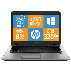 ORDINATEUR PORTABLE Pc portable HP Elitebook 840 g1 ultrabook  core i5
