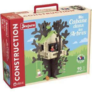 ASSEMBLAGE CONSTRUCTION JEUJURA Jeu Cabane dans les arbres - 90 pièces , 8