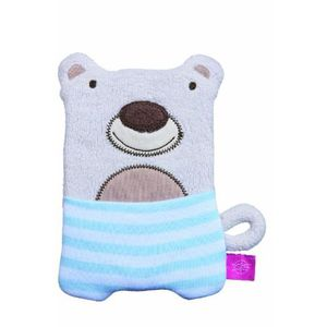 PELUCHE PELUCHE CHAUD/FROID OURS, 100% COTON BIO
