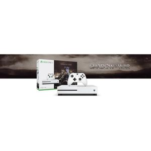 CONSOLE XBOX ONE CONSOLE XBOX ONE S 1TO SHADOW OF WAR