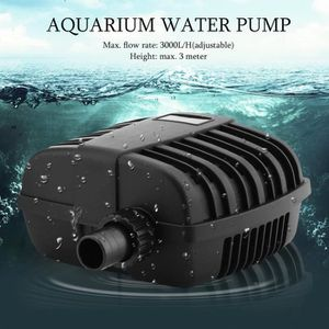 POMPE - FILTRATION  Filtre pompe de aquarium submersible 55w 3000l/h m
