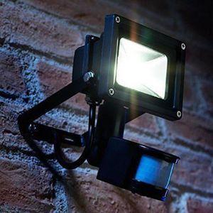 PROJECTEUR EXTÉRIEUR 20W Projecteur LED avec détecteur de mouvement PIR