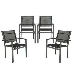 Chaises de jardin solide
