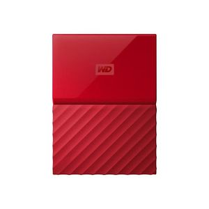 DISQUE DUR EXTERNE WESTERN DIGITAL My Passport - 4To - Rouge