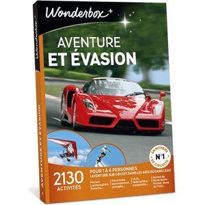 COFFRET SPORT - LOISIRS Wonderbox - Coffret cadeau - Aventure et evasion -