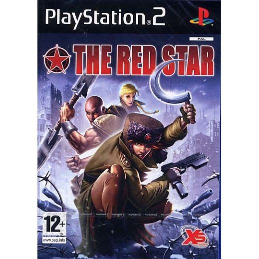 JEU PS2 THE RED STAR / JEU CONSOLE SONY PS2