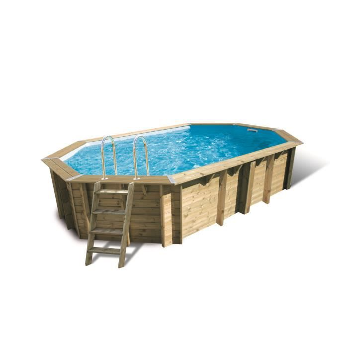Piscine enterr e 6x4 for Piscine semi enterree 6x4