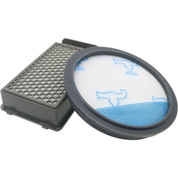 Kit de Filtres pour les Aspirateurs Rowenta / Moulinex / Tefal Compact Power Cyclonic (Alternative à ZR005901)