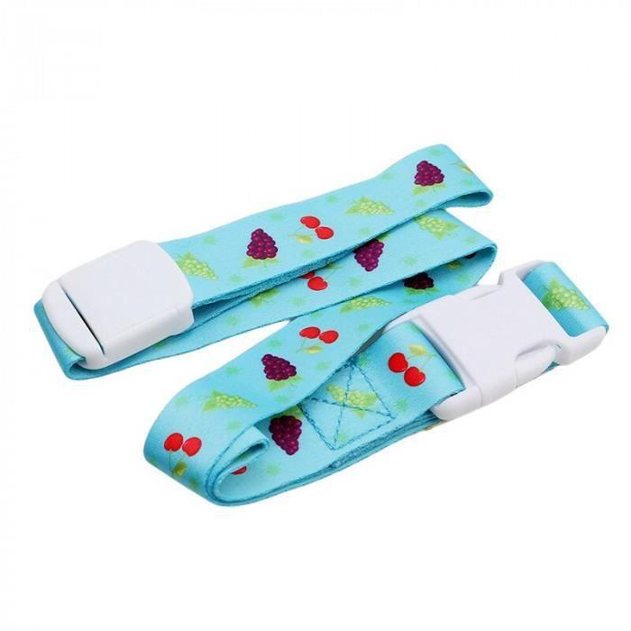 Version Bleu - Anti-Perte Sangle Bébé Attache Sucette Poussette Corde Dentition Jouets Sippy Tasse Biberon Infantile Chaîne Factice