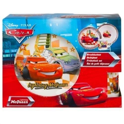 Coffret Set petit dejeuner Cars
