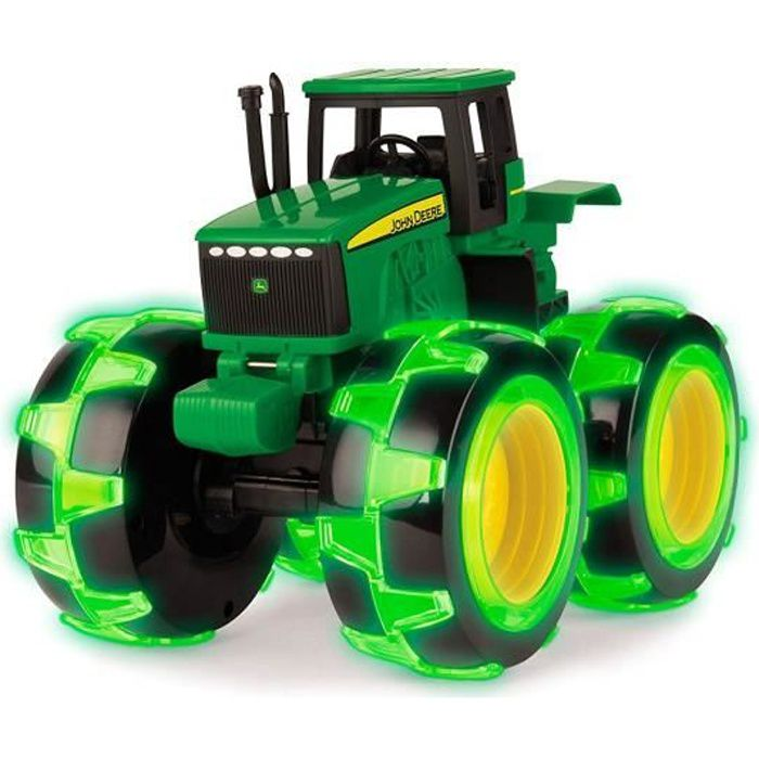TOMY John Deere - 46434 - Monster Treads light Wheels - Jouet Tracteur dès 3 ans