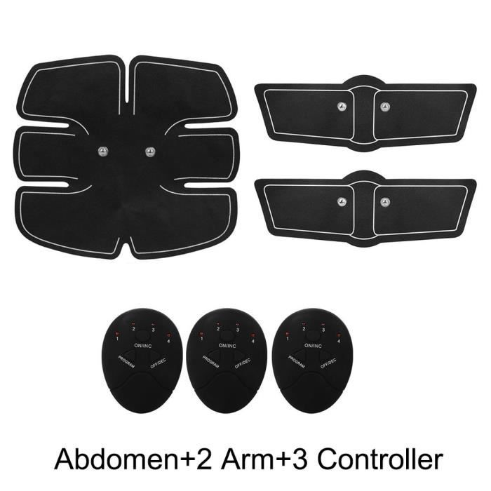 Entraînement Abdominal Muscle Stimulateur ABS Forme d'Exercice Fitness abdominale Muscle Toner Corps Tonique