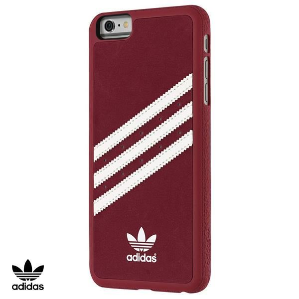 ADIDAS Coque Moulded en daim - Iphone 6 / 6s - Rouge