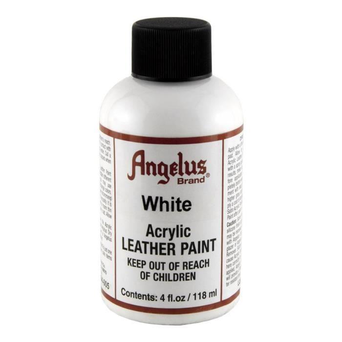 Angelus Cuir Peinture 4 Oz Blanc