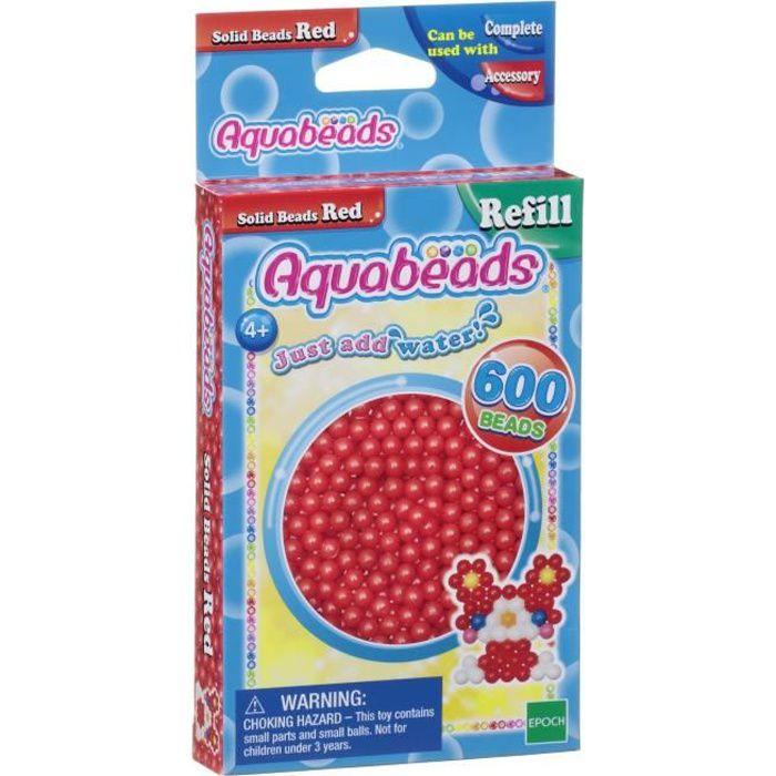 AQUABEADS Perles Classiques Rouges