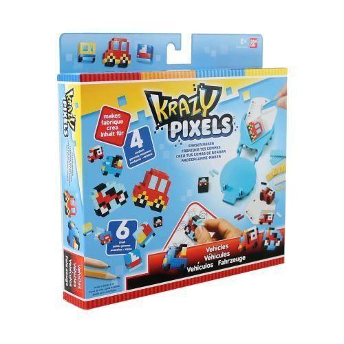Bandai Kit créatif de demarrage Krazy Pixels - 3296580385508