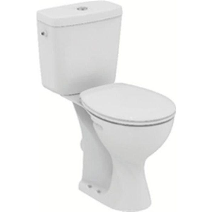 Ideal standard Pack surélevé ULYSSE dc sortie horizontale alimentation latérale blanc réf E905701