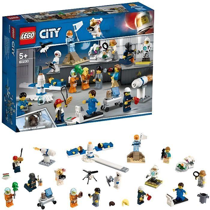 Lego 60230 City - Ensemble de figurines : la recherche et le développement spatiaux