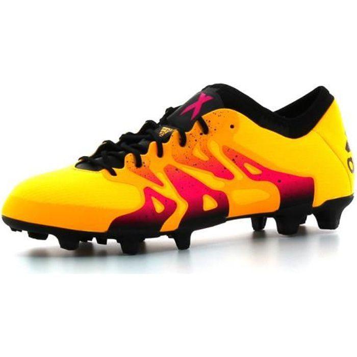 ADIDAS PERFORMANCE Chaussures de football X 15.1 FG/AG - Homme - Orange