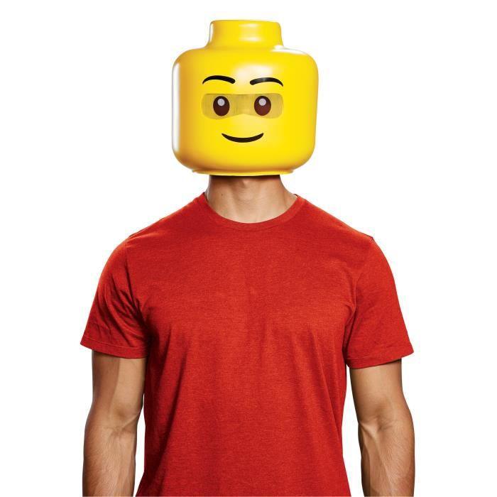Déguisement luxe bonhomme LEGO® adulte - Taille Unique