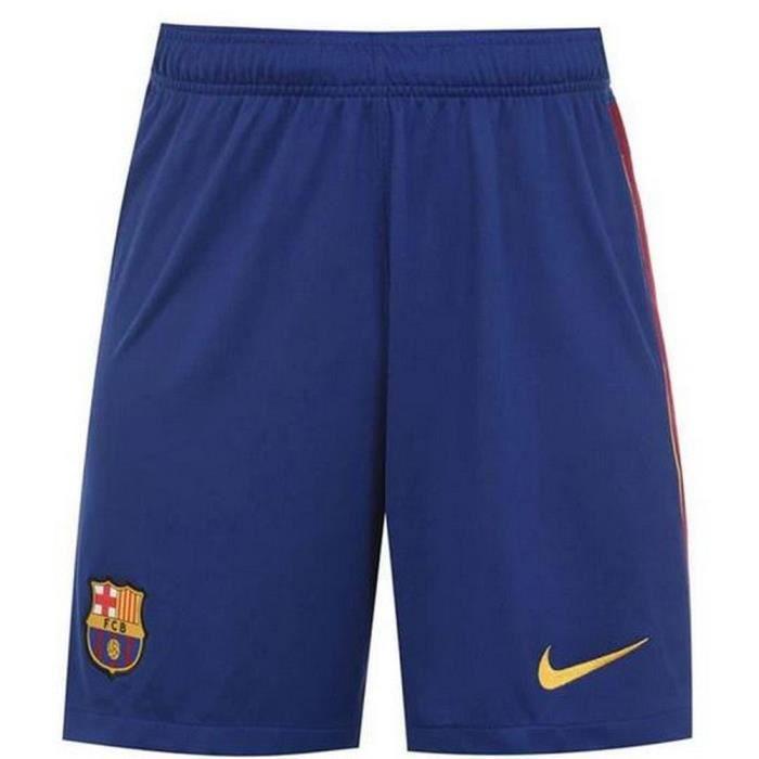 Short Officiel Nike Homme FC Barcelone Domicile Saison 2020-2021