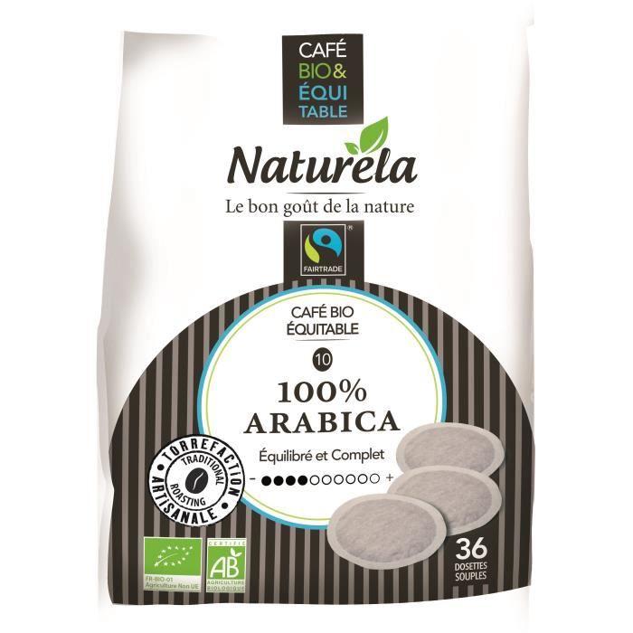 Naturela Café Dosettes Souples 100% Arabica Équitable x5 n° 5 Bio