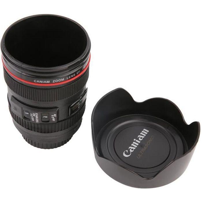DSLR Caméra Objectif Mug Objectif Photo ISO café tasse tasse Pour Canon3