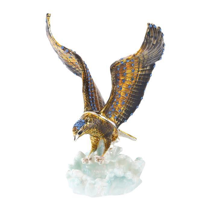 Chic aigle décor à la maison bureau artisanat ornements décoration créative ornement de table pour salon RASOIR ELECTRIQUE