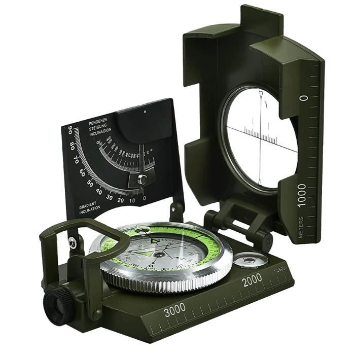 Compass Visée métal Multifunction Compass