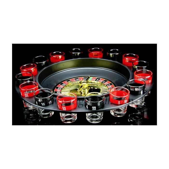 jeu d 39 alcool shooters roulette casino apero achat vente jeu soci t plateau cdiscount. Black Bedroom Furniture Sets. Home Design Ideas