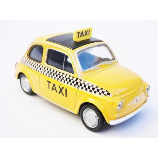 Fiat nuova 500 1 43 taxi jaune new york achat vente for Objet deco new york