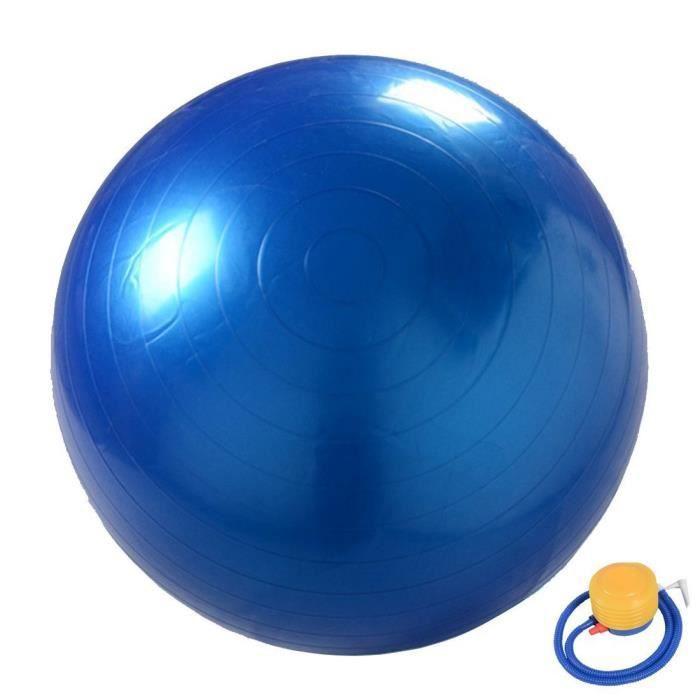 Pilates Yoga Balle Avec Rapide Pompe 45cm//55cm//65cm//75cm Arteesol Ballon d/'exercice