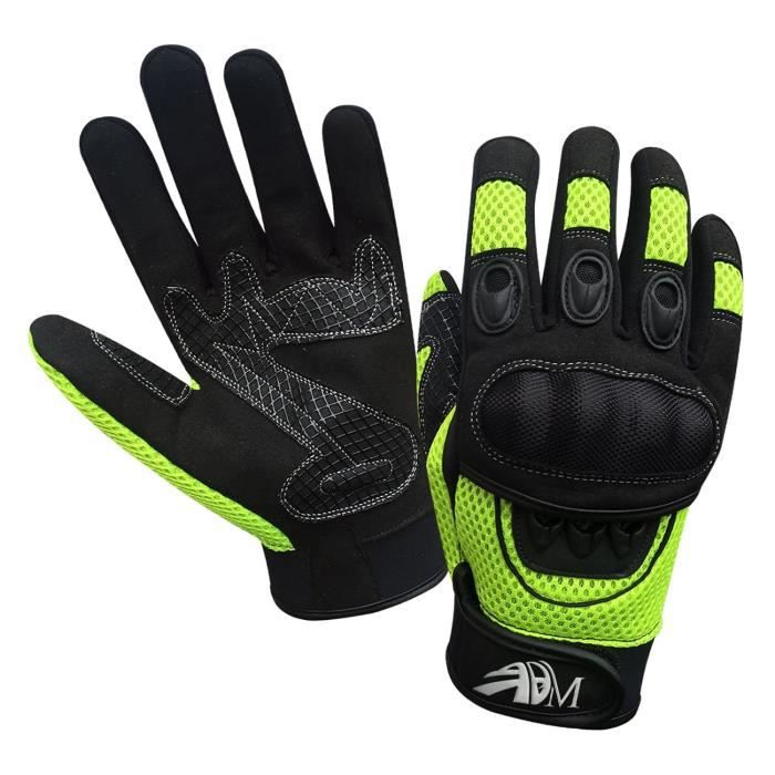 gants protection moto mi saison vert xl achat vente gants sous gants gants protection. Black Bedroom Furniture Sets. Home Design Ideas