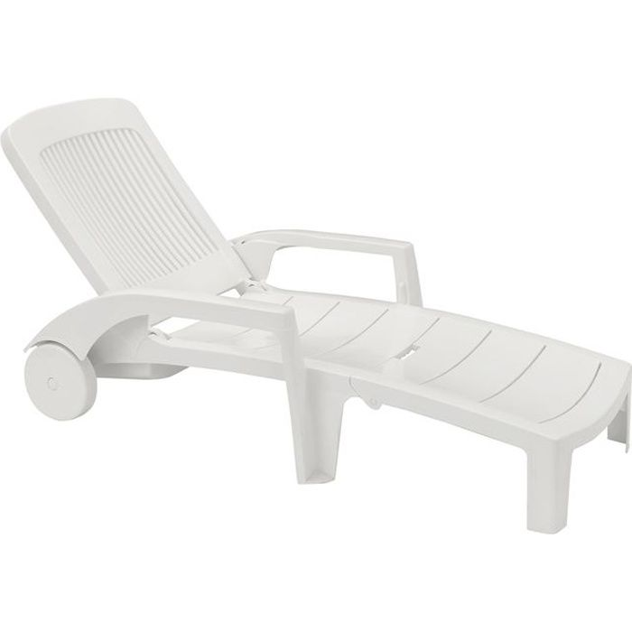 bain de soleil fidji blanc achat vente chaise longue bain de soleil fidji blanc cdiscount. Black Bedroom Furniture Sets. Home Design Ideas