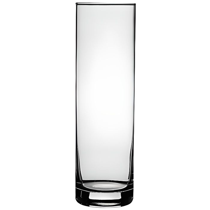 paris prix vase flora transparent 26cm cylindrique achat vente vase soliflore verre. Black Bedroom Furniture Sets. Home Design Ideas