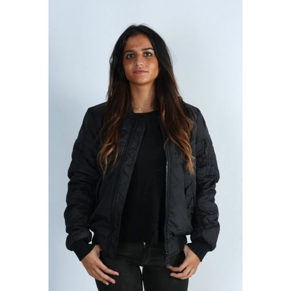 blouson femme bombers kamora n noir achat vente blouson cdiscount. Black Bedroom Furniture Sets. Home Design Ideas
