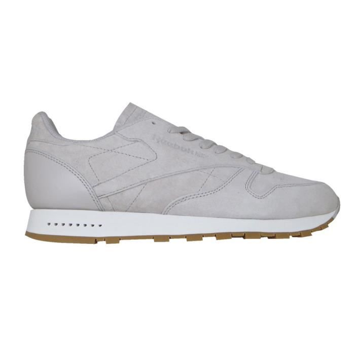 5e192c3aad3 Chaussures homme Baskets Reebok Classics Classic Leather Sg Gris ...