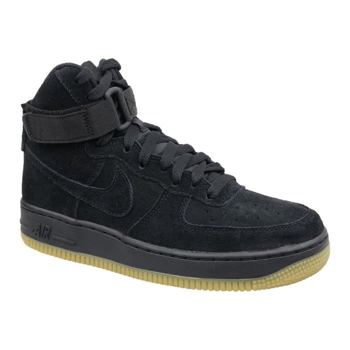 807617 Sneakers High Gs Nike Force Lv8 Enfant Air 1 Noir 002 Pour OZiPkulwXT